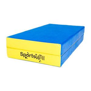 800 Мат SportsWill 100 х 100 х 10 скл син