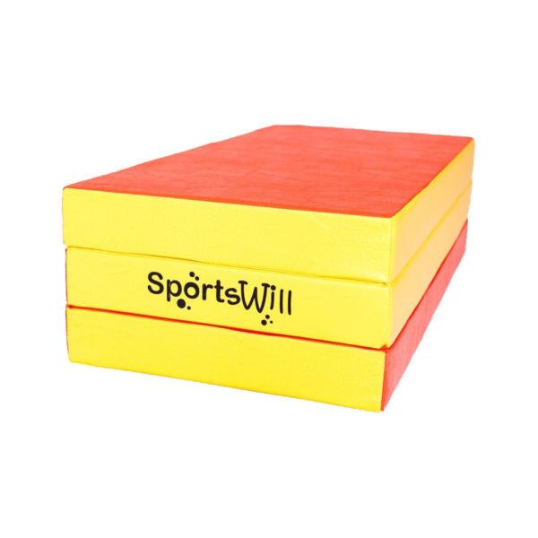 800 Мат SportsWill 150 х 100 х 10 скл красн