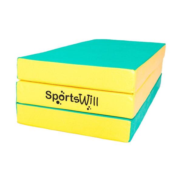800 Мат SportsWill 150 х 100 х 10 скл зел