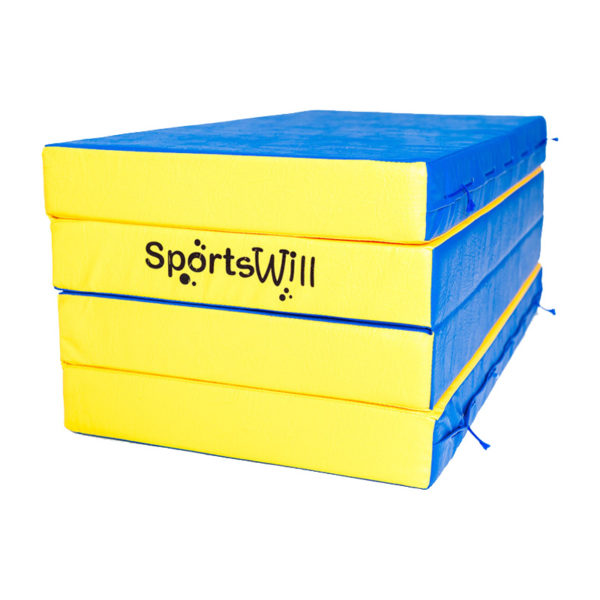800 Мат SportsWill 200 х 100 х 10 скл син