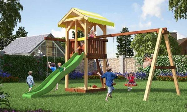 Детский игровой комплекс для дачи Савушка 4