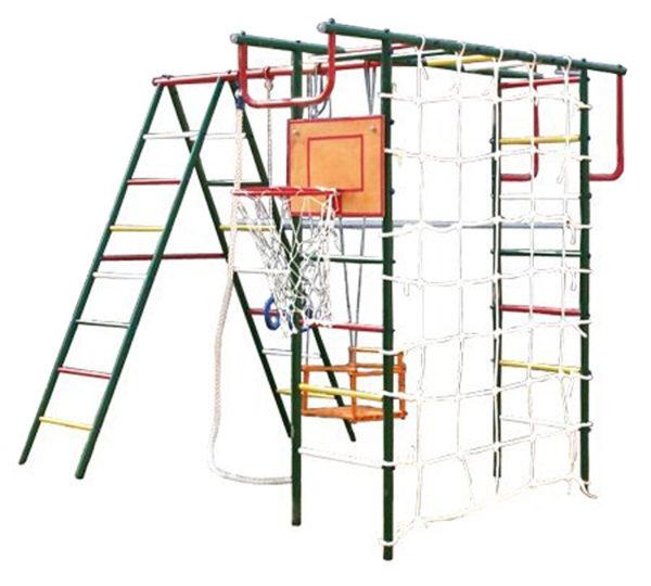 Детская площадка Вертикаль-А+П с сеткой