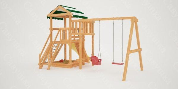 Детский игровой комплекс Савушка Мастер 2