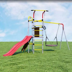 detskij sportivnyj kompleks dlja dachi romana ostrovok pljus kacheli gnezdo