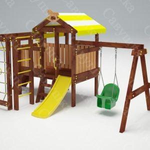 Детский игровой комплекс для дачи САВУШКА BABY PLAY – 11_1