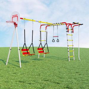 Детский спортивный комплекс для дачи ROMANA Акробат - 2 (качели цепные)