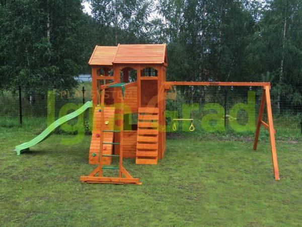 IgraGrad Клубный домик 2 с рукоходом_3