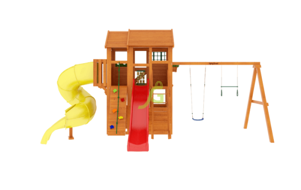 IgraGrad Клубный домик 3 с трубой