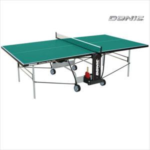 vsepogodnyj tennisnyj stol donic outdoor roller 800 zelenyj