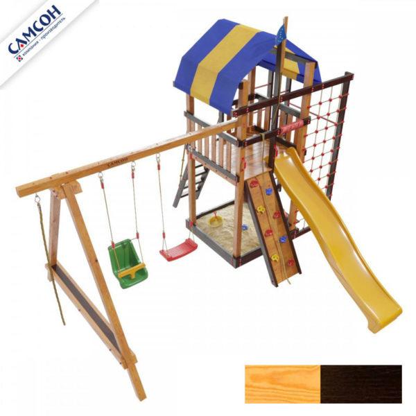 Детская площадка для дачи Самсон Аляска Комби