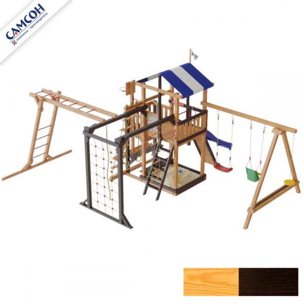 Детская площадка для дачи Самсон Бретань Семейная