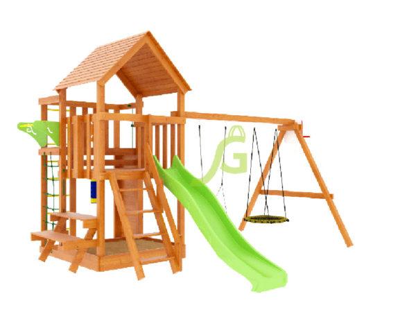 Детская площадка IgraGrad Крафт Pro 3 (скат 2,2)-1
