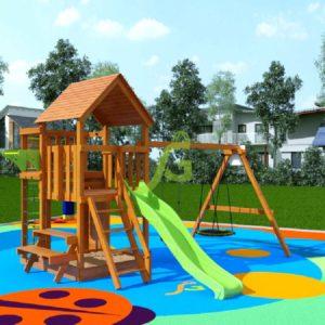 Детская площадка IgraGrad Крафт Pro 3 (скат 2,2)