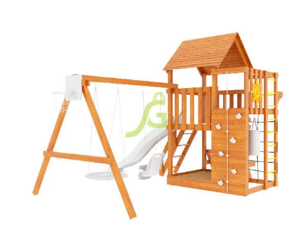 Детская площадка IgraGrad Крафт Pro (окрашенная)-5