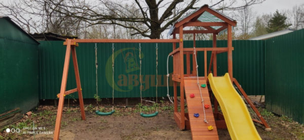 Детская площадка Савушка ХИТ 2 фото