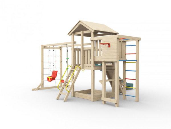 Детская площадка для дачи Лео макси1