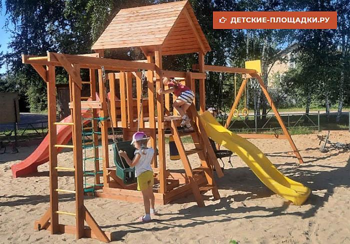 Детская площадка IgraGrad Kraft Pro 5 сборка 700