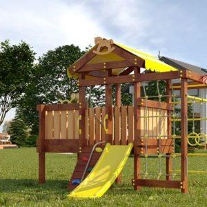 Детский игровой комплекс для дачи САВУШКА BABY PLAY - 3