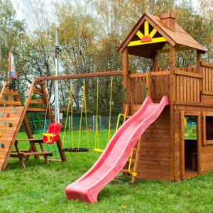 Детская площадка Выше Всех Крепость