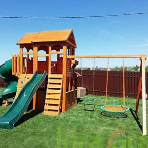 Детские площадки для дачи IgraGrad Клубный домик