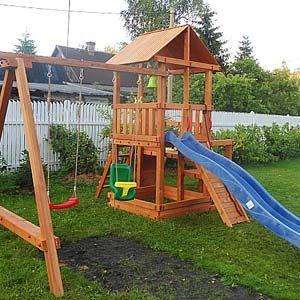 Детские площадки для дачи Сибирика