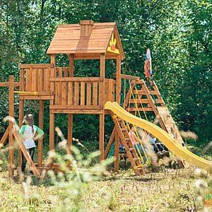 Детские площадки для дачи Выше всех