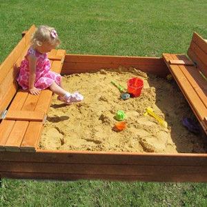 Детские песочницы для дачи