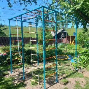 Детская площадка для дачи ЧЕ-СПОРТ Мини с качелями-гнездо 80